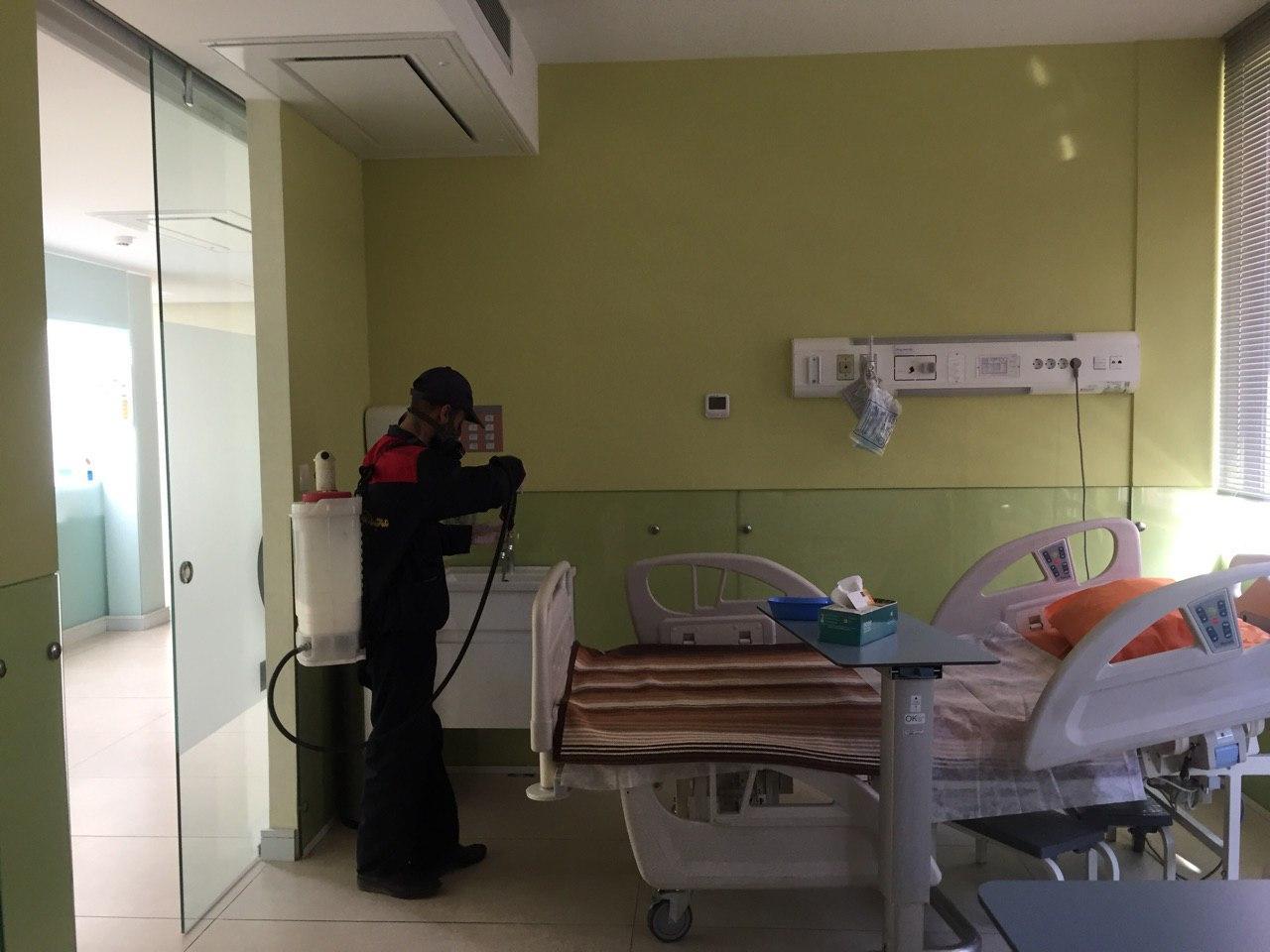سمپاشی مراکز درمانی